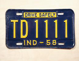 antique-indiana-license-plate-1111-numbers