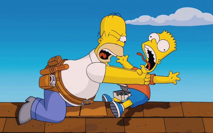 Bart and Homer head for Wrexham With pic Calling all Simpsons – you're invited to meet some very famous relatives when they visit North Wales today (Tuesday, June 1). Homer and Bart Simpson are heading for the Eagles Meadow shopping centre in Wrexham.