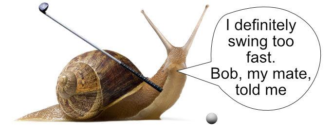snail golf