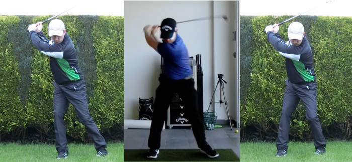 3 swings back presure