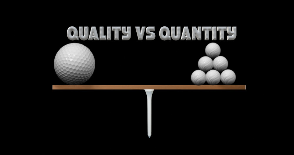 quality or quantity the future of golf practice adam young golf