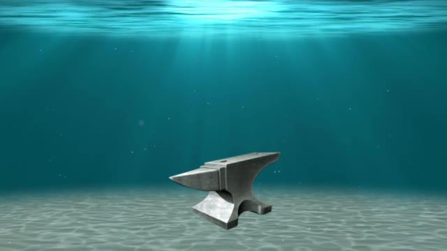 anvil-underwater