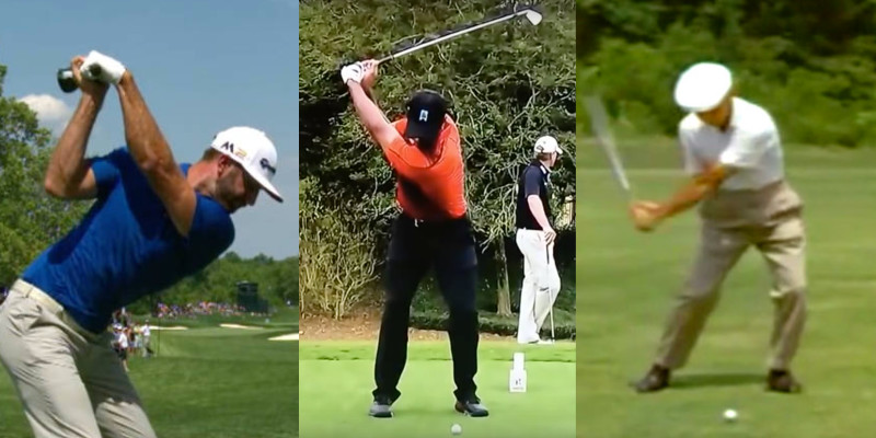 Why You Shouldn't Copy The Golf Swings Of The Pros