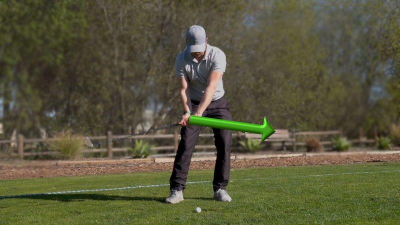 golf hand path