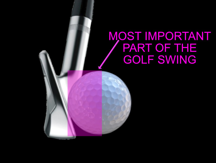 golf impact is the most important part of the golf swing