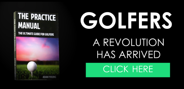 the practice manual golf book